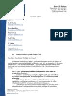 Jordan School District attorney letter to Bluffdale City