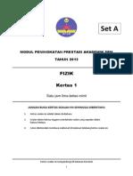 Physics 2013 P1 Set A