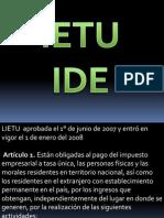IETU-IDE