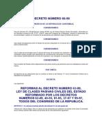 Decreto Del Congreso 66-98