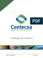 CATÁLOGO DE PRODUCTO CONTECSA Rev0 011209