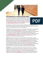 Corporate Culture Material