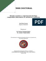 Estudio numérico y experimental del flujo (tesis doctoral)
