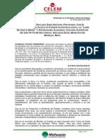 Decreto ANP Loma Santa Maria