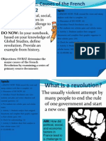 The French Revolution (1)