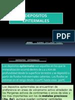 Depositos Epitermales -Miguel Huamani c