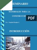 Presentación Materiales para la Construcción