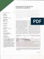 Presiones de Perforacion y Produccion