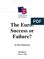 The Euro - Success or Failure.docx