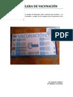 Cartelera vacunacion