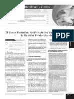 Costos Estandar Revista Empresarial Mexicana