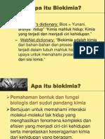 1. Sejarah Dan Perkembangan Bio Kimia