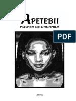 Apetebii a Mulher de Orunmila