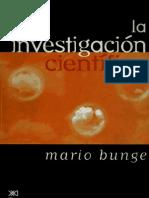 Bunge La Investigacion Cientifica Observacion