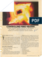 Controlling Fired Heaters