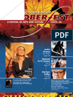 2009 Chico Artoberfest Guide - A Festival of Art & Culture in Northern California