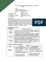 Plan Anual Comunicacion 3°-2012