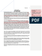 Assignment One Peer Workshop Draft With Annotations