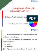 Espectroscopia de absorção molecular UV-vís