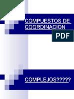 ENLACES EN COMPUESTOS DE COORDINACIÓN .ppt