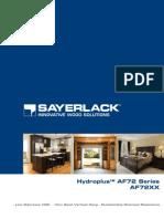 Sayerlack Hydroplus AF72