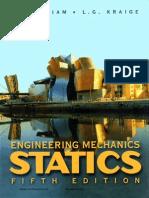 (Wiley) Engineering Mechanics. Statics. Theory 5th Edition