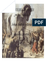 Unidad 2 La Guerra de Troya - Johan Andrés Colorado Hernández