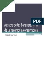 Unidad 5 Masacre de las Bananeras - Camila Tejada Vélez