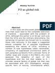 UFO as Global Risk
