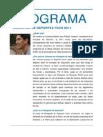 Programa Cristobal Jara