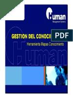 Herramienta Mapas de Conocimiento HUMAN 2012