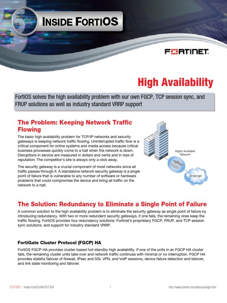 Fortigate-Inside-HA-50 | Load Balancing (Computing) | Router