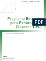 Programa Educacion Diabetes Tipo II
