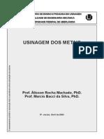 Usinagem Dos Metais - Machado e Da Silva - 2004