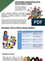 Sesion de Clase Afroperuana