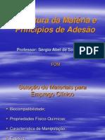 2 aula - Estrutura da Matéria e Princípios de Adesão