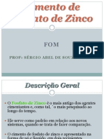 5 Aula - Cimento de Fosfato de Zinco