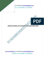 264.Speed Control of Universal Motor Using Igbt