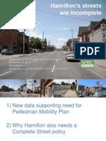 Hamilton's Streets are Incomplete