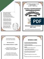 Invitacion a Graduacion
