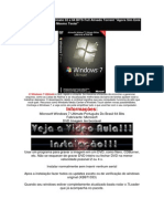 Baixar Windows 7 Ultimate 32 e 64 BITS Full Ativado Torrent