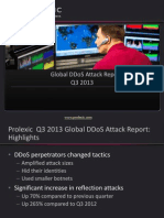 Global DDoS Attack Trends