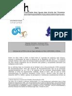 DD HH INFORME de LA FIDH PERU 2008_FederacionInternacionaldelosDerchosHumanos