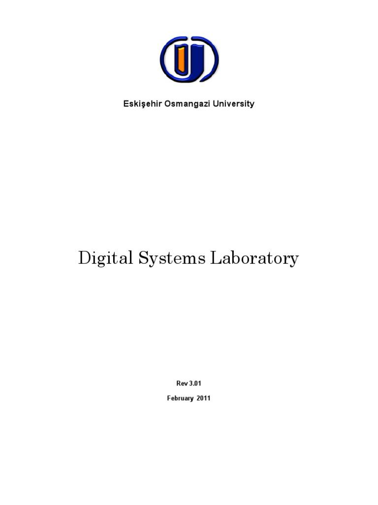 Digitalsysylabmanual Rev301 Digital Electronics Logic Gate Diagram Of Ic 7483