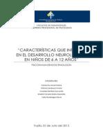 DESARROLLO NEUROLOGICO DE LOS NIÑOS