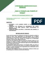 SABES QUE ES EL DENGUE 3º version