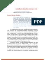 Escrita de Si na Memória da Educação em Aracoiaba - Ceará