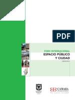 EPSZTEIN-Foro Internacional Espacio Publico y Ciudad