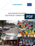 Solomon Islands-National Urban Profile