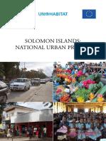 Solomon Islands-National Urban Profile